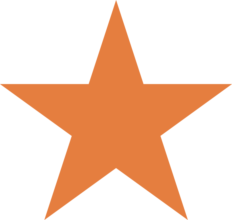 Download Orange Star Clip Art PNG Image with No Background ...