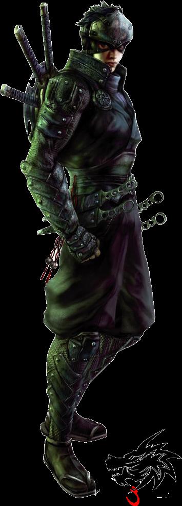 Ken Ogawa Vs Ryu Hayabusa - Ninja Blade Ken (376x1024), Png Download