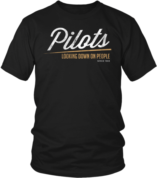 Limited Edition Pilots Looking Down 4 T Shirt Hoodie