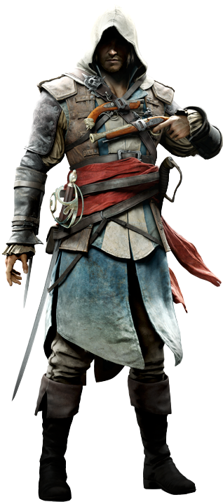 Download Aci Edward Assassin S Creed 4 Edward Kenway Png Png