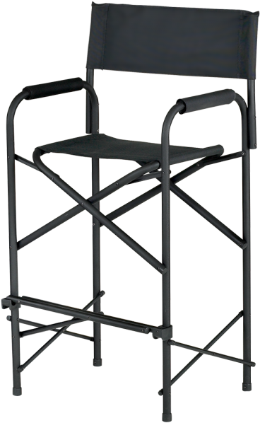 E-z Up Standard Folding Director Chair (750x650), Png Download