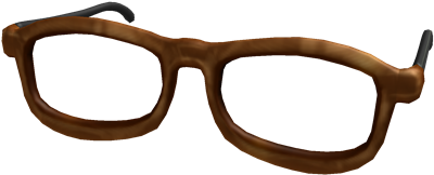 roblox hipster glasses id