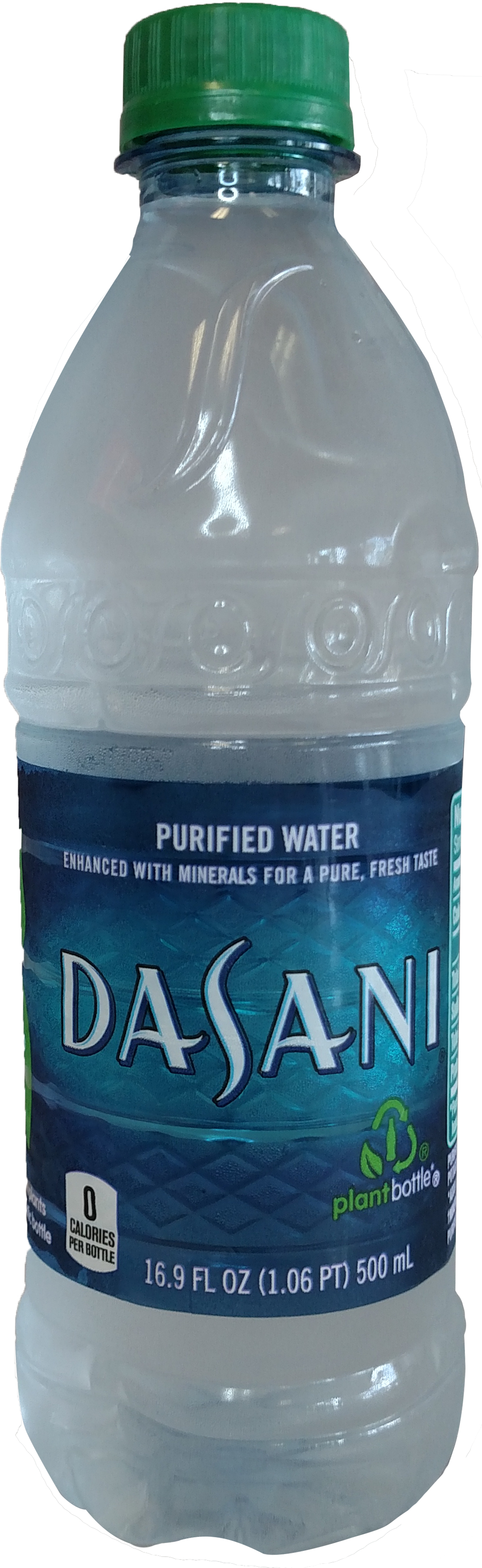 Beverages Pizzanos Pizza Lake Wales - Dasani Purified Water - Single Item, 20 Fl Oz (1104x3586), Png Download
