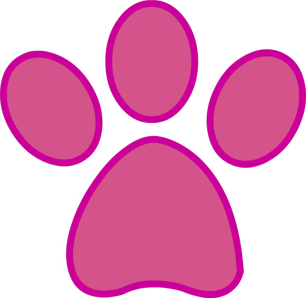 Rabbit Paw Print Png : It's high quality and easy to use.