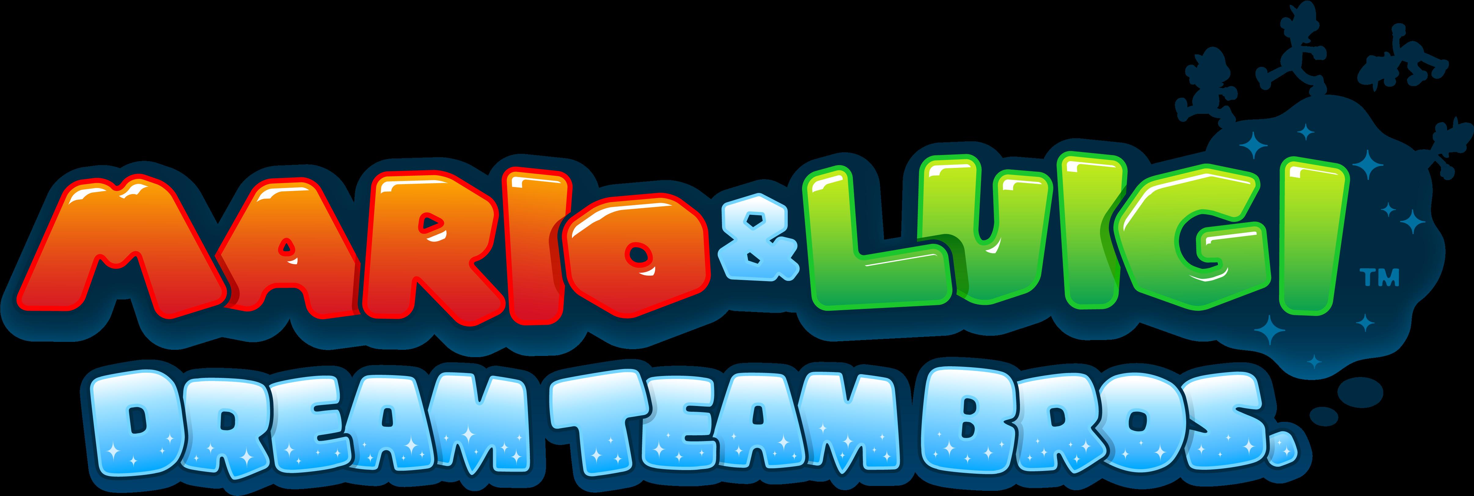 Download Mario Luigi Dream Team Bros Mario Luigi Dream Team 3ds Game Png Image With No Background Pngkey Com