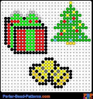 Bugelperlen Vorlagen Weihnachten Zum Ausdrucken