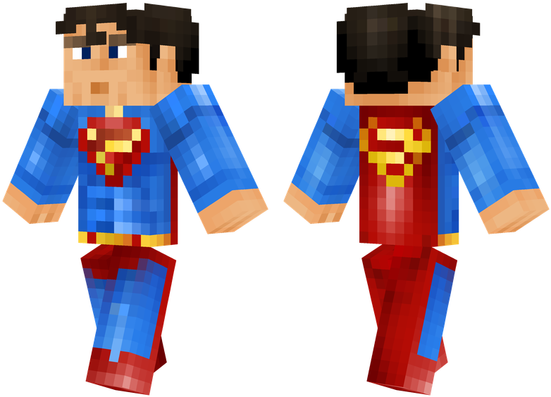 майнкрафт скин supergirl #5