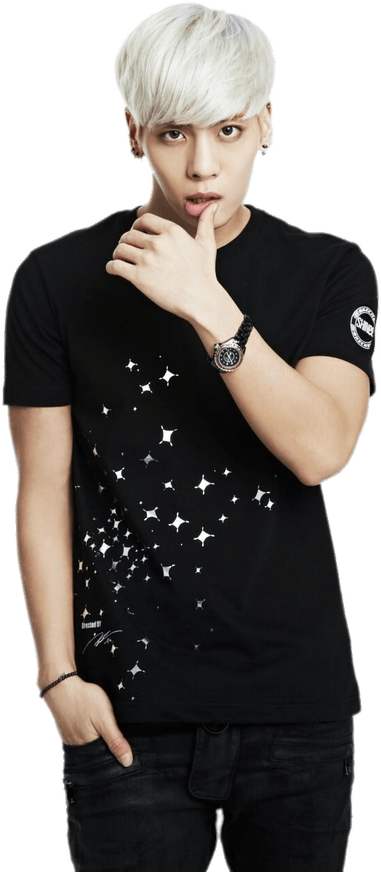 Download Download - Shinee Jonghyun Shirt Skechers PNG Image
