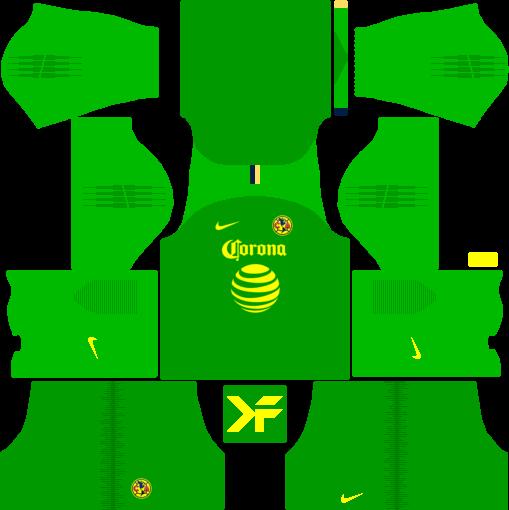 Download Goalkeeper Away Kit - Kit Dls Nike 2019 PNG Image with No