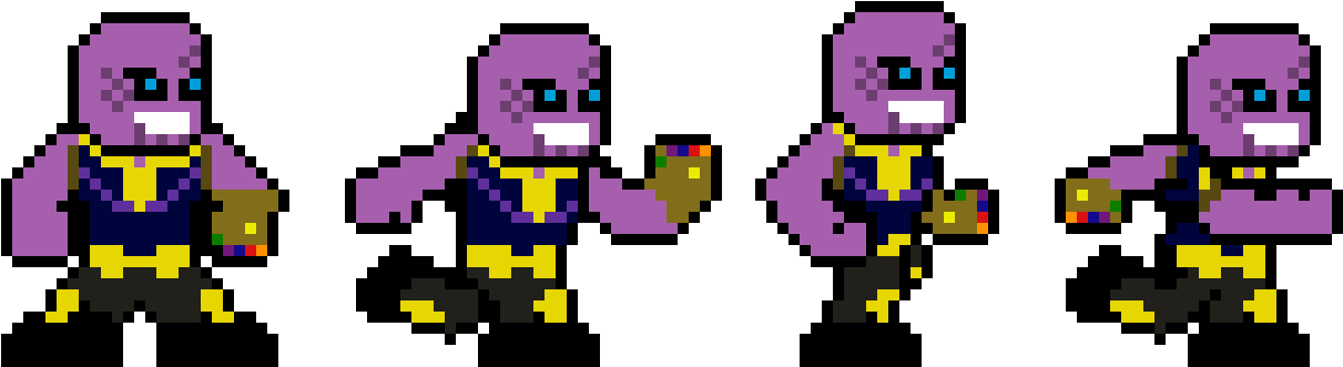 Erock's Beta Testing 33-332007_thanos-pixel-art