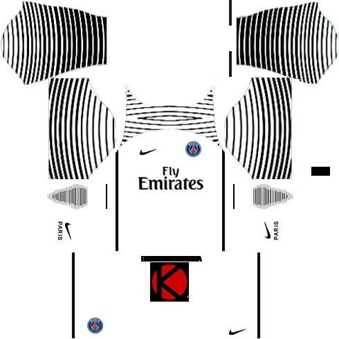 buy popular 001e8 dbb52 Download Paris Saint-germain 2016/17 - Kit Do Real Madrid ...