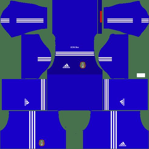 the best attitude 697d6 1303c Download Mexico Kits & Logo Url 2017 Dream League Soccer ...