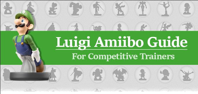 Amiibo Training Guide - Nintendo Luigi Amiibo (super Smash Bros Series) (672x372), Png Download