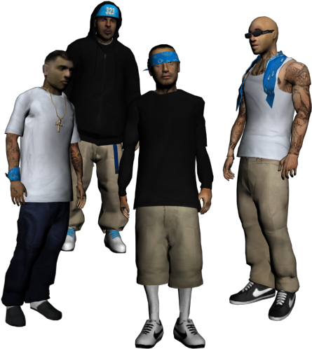 Download New Character El Coronas Gang For Gta San Andreas - Mexican