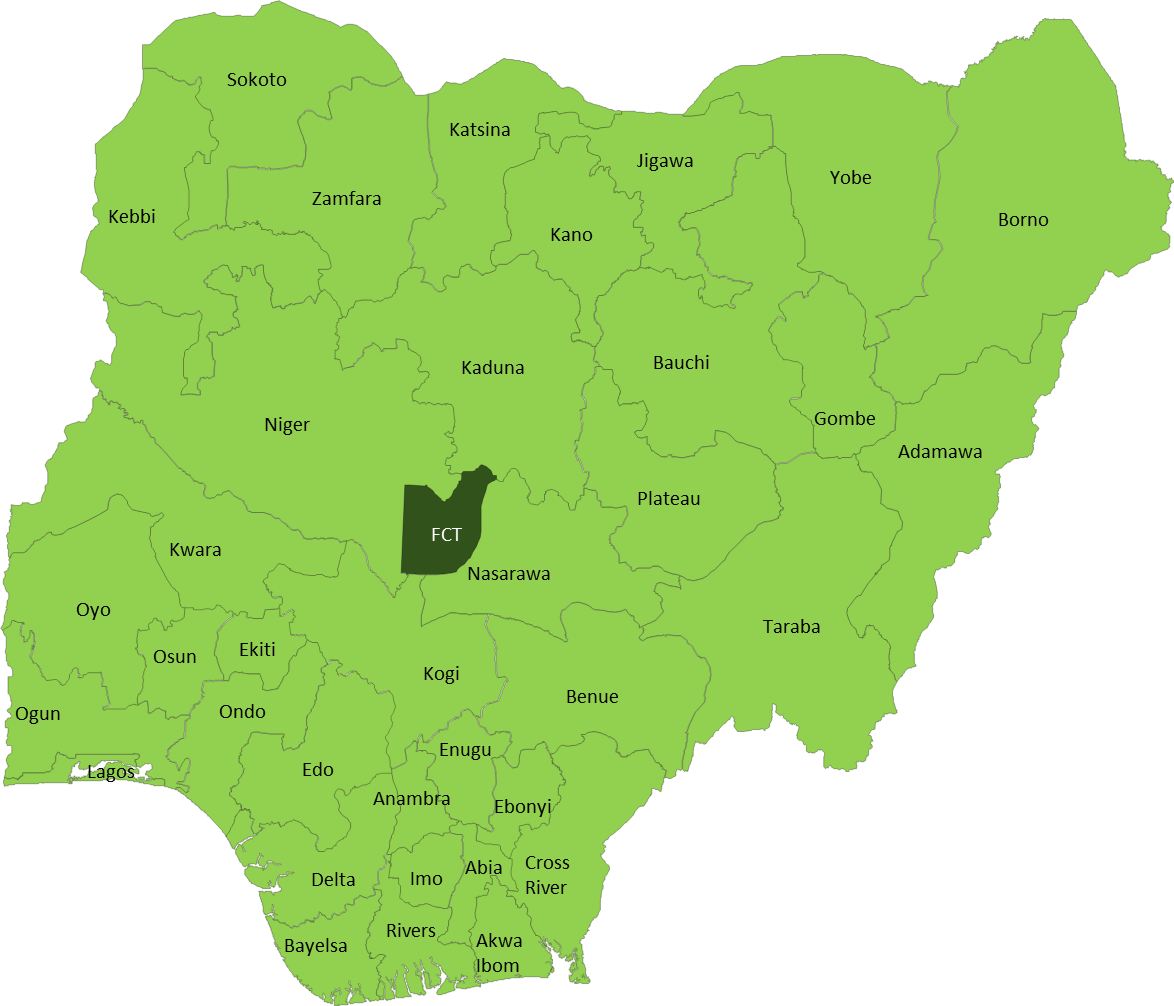 Picture1 - 2007 Presidential Election Result In Nigeria (1174x1006), Png Download