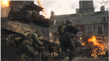Zoom - Call Of Duty: World War 2 Pro Edition (ps4) (380x380), Png Download