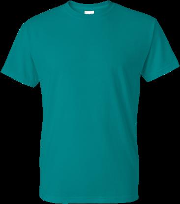 Gildan Dryblend 50/50 T-shirt - T Shirt Design Green (400x500), Png Download