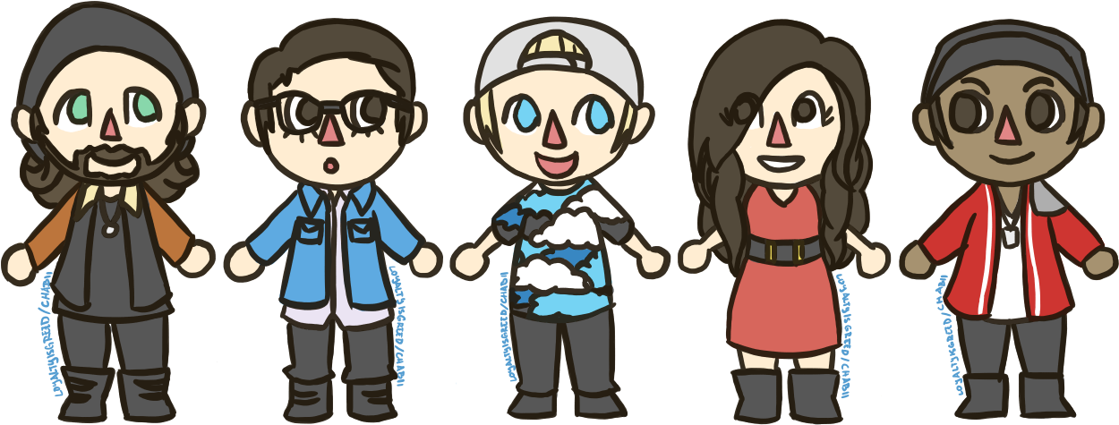 """"""" Ptx Crossing Cause I Heard Someone Bought A Copy - Animal Crossing: New Leaf (1275x500), Png Download"""