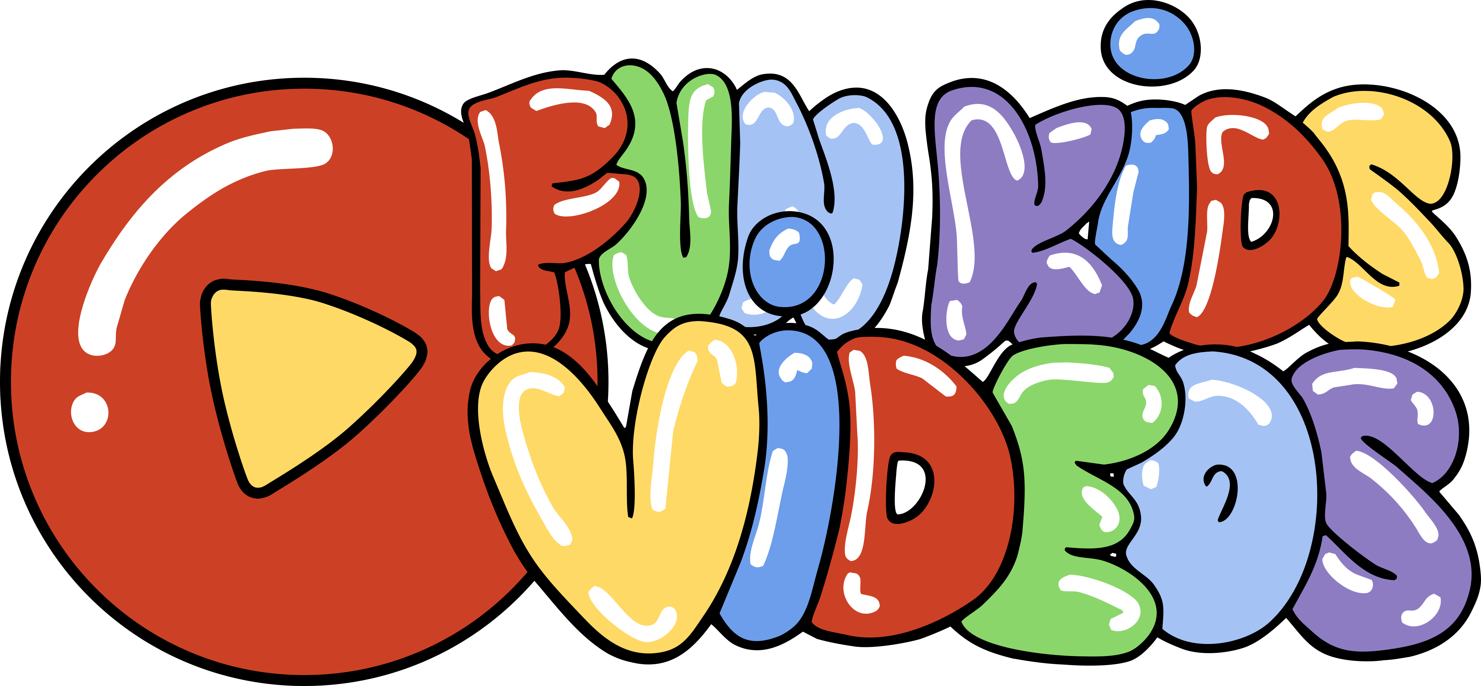 Fun Kids Videos - Fun Kid Videos (5000x2316), Png Download