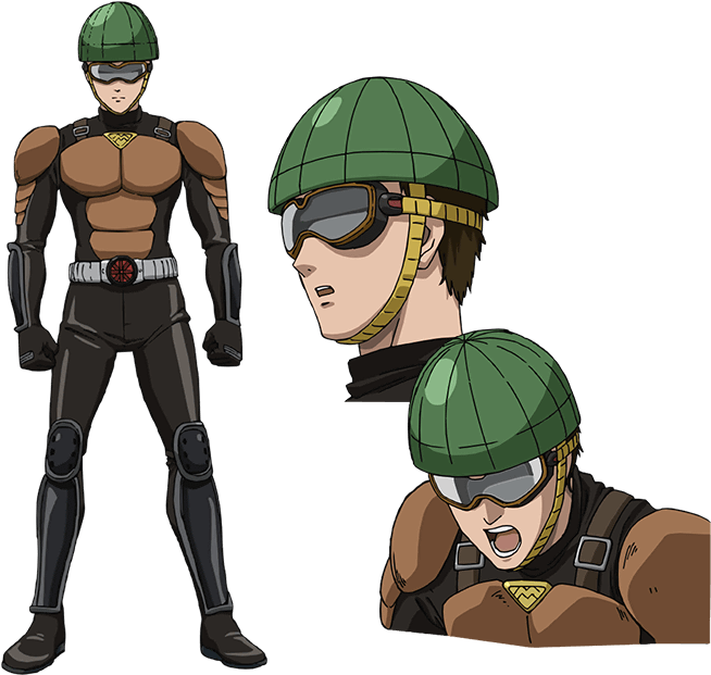 Download Mumen Rider Anime Gallery Onepunch Man Wiki One Punch Man Anime Character Png Image With No Background Pngkey Com