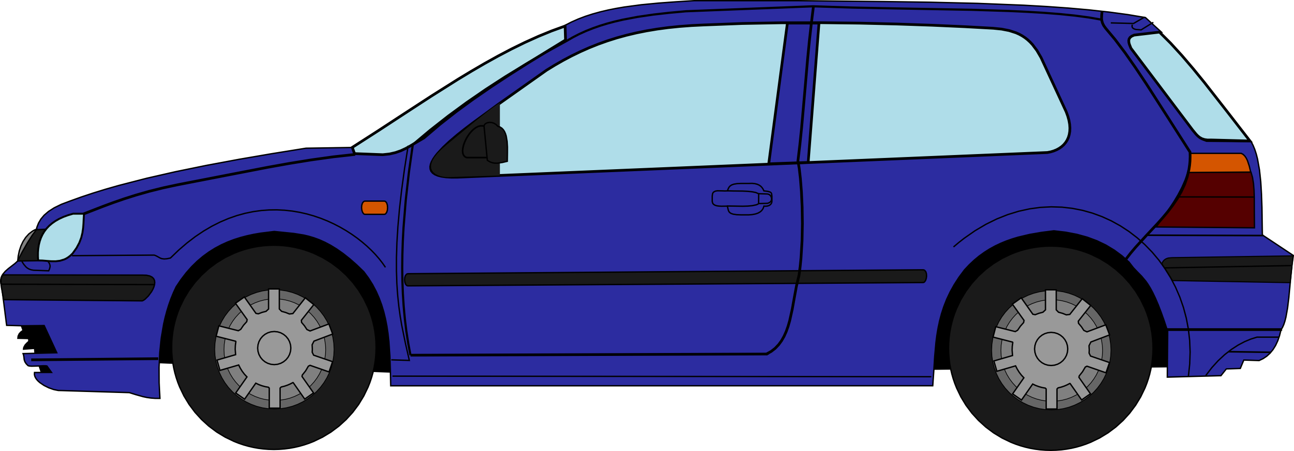 Download Vw Golf 4 Profile Drawing Vw Golf 4 Drawing Png Image With No Background Pngkey Com