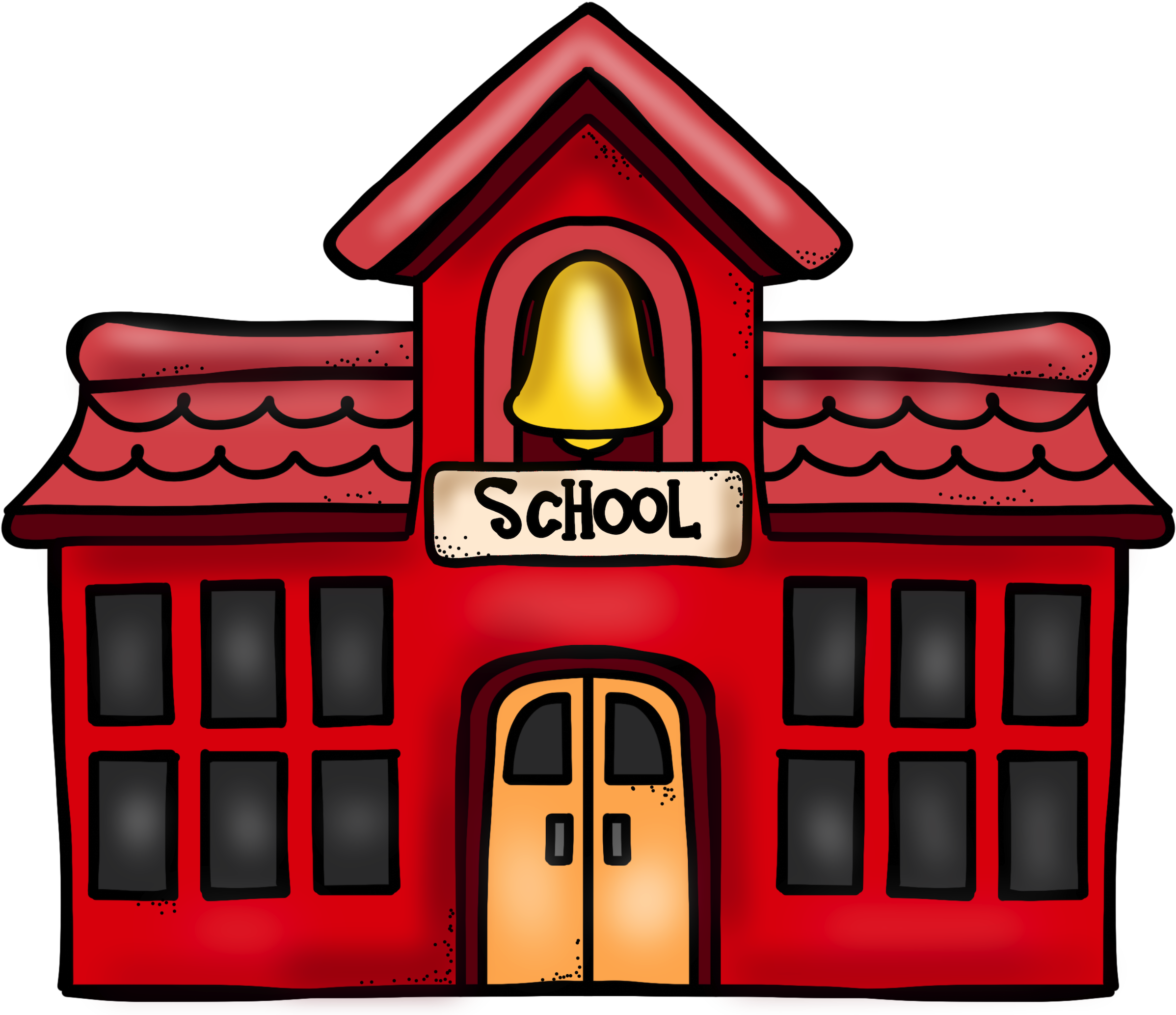 Download School Building Cartoon Png PNG Image with No Background -  PNGkey.com