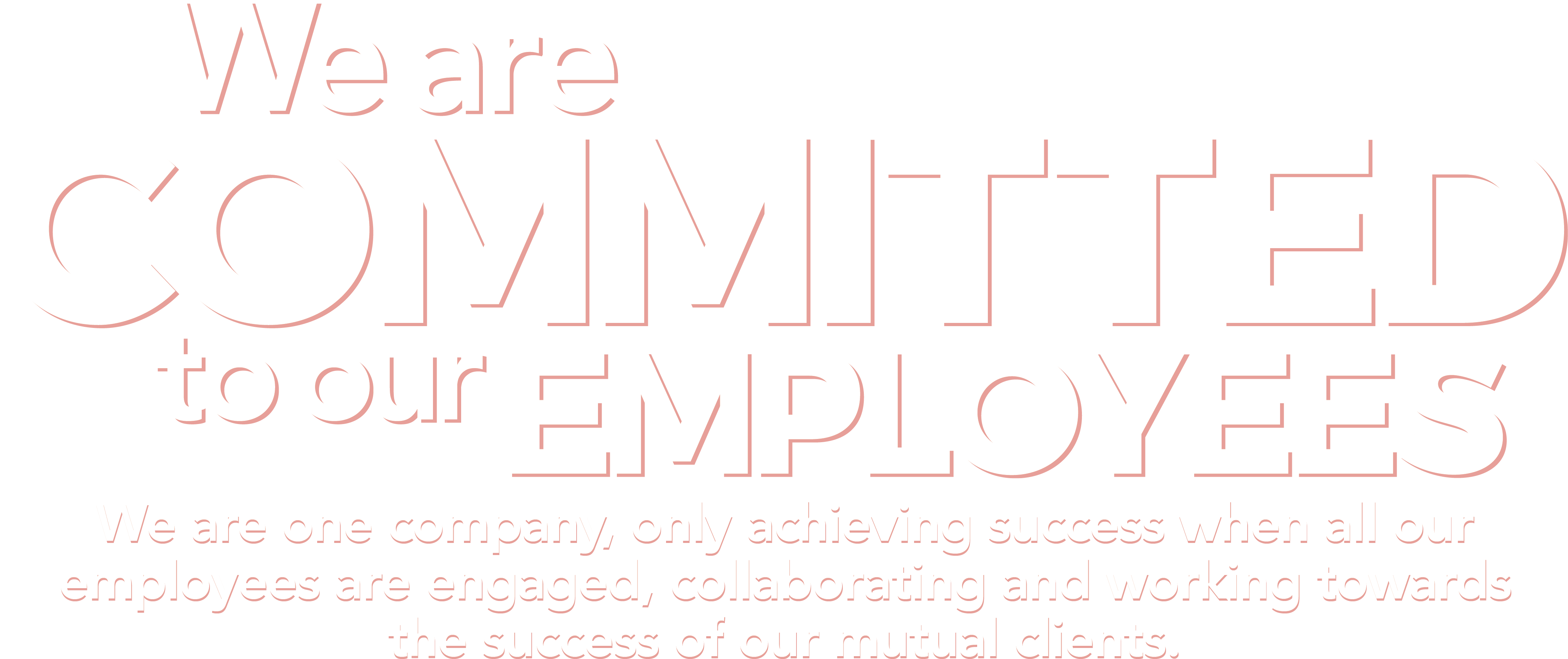 We Are Committed To Our Employees - Committed To Our Community (5040x2880), Png Download
