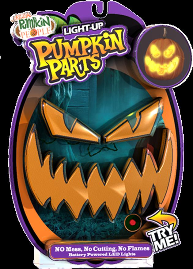 Pumpkin Parts Led Light Ups - Pumpkin Parts Led Light Ups - By Pumpkin People Evil (662x972), Png Download