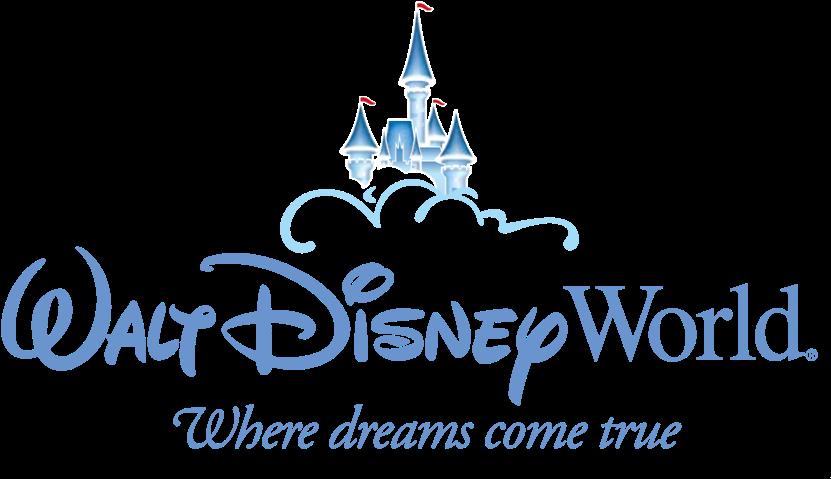 Svg Black And White Disney World Castle Clipart - Disney Theme Park Logo (850x485), Png Download