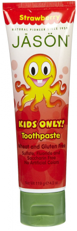 Jason Kids Only Strawberry Toothpaste 119g - Jāsön Kids Only! Toothpaste (450x450), Png Download