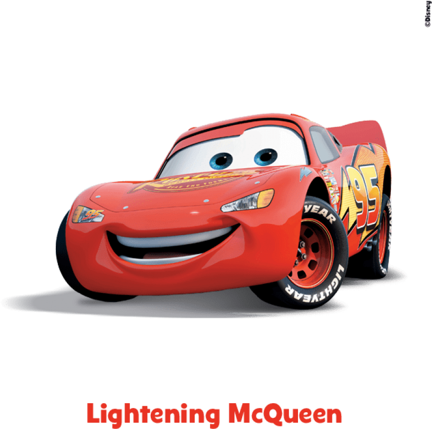 Download This Hotshot Race Car Is The Main Character In The Cars Race O Rama Lightning Mcqueen Png Image With No Background Pngkey Com