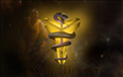 Kobe Bryant Logo Wallpaper - Kobe Bryant Logo Wallpaper Hd (420x420), Png Download