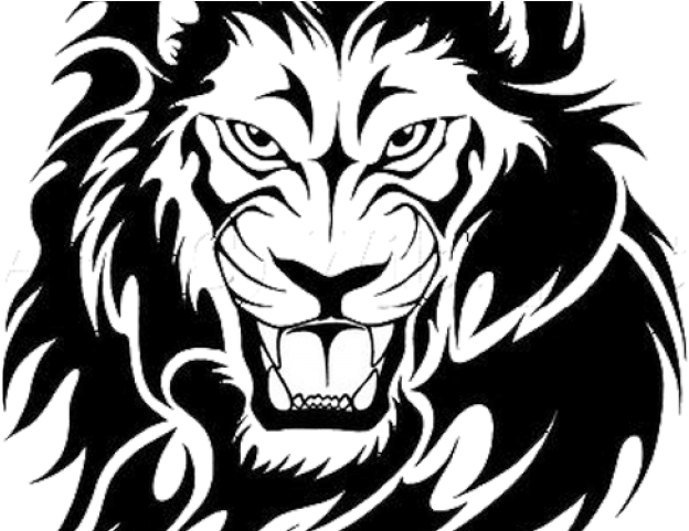 fef9bf27b Lion Tattoo Png Transparent Images - Simple Tattoos Designs Lion (640x480),  Png Download