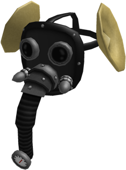 Download Steampunk Elephant Steampunk Gas Mask Roblox Png Image