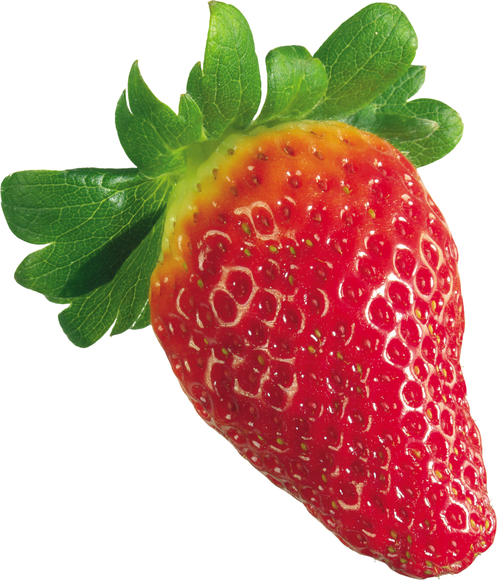 Best Free Strawberry Png Image Without Background - Strawberries Fraise Without Background (1614x1882), Png Download