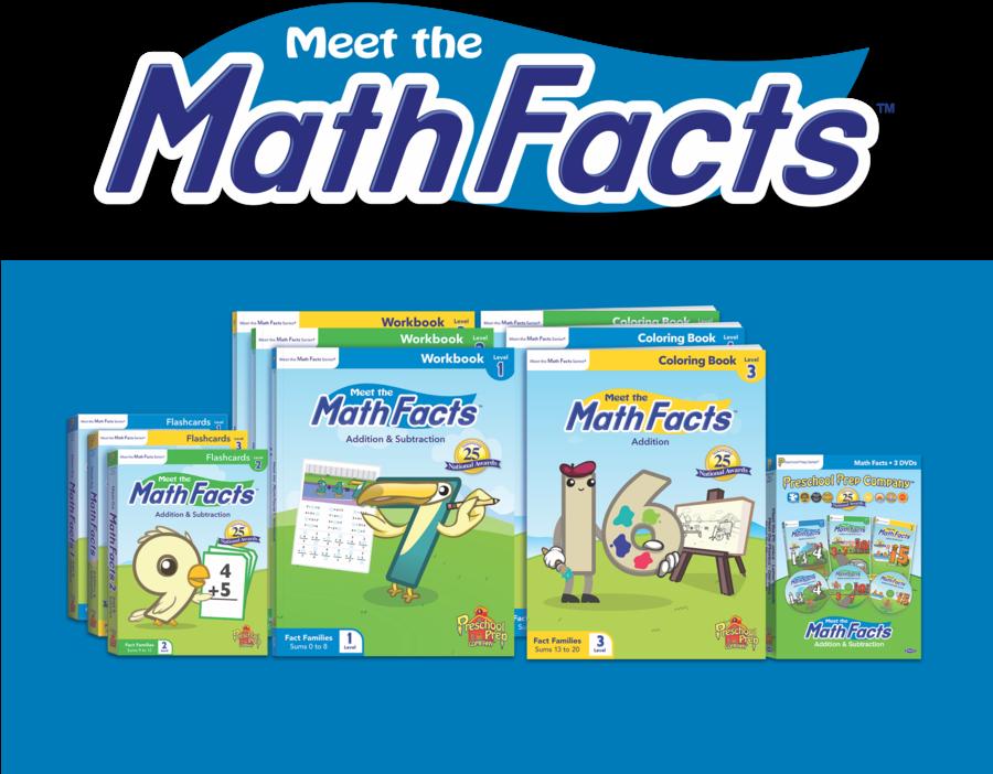 Download Preschool Prep Company, Meet The Math Facts - Preschool Prep Math Facts Level 1 (899x751), Png Download