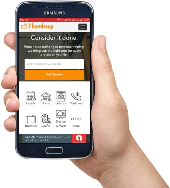 Download Thumbtack Clone Android App - Iblazr 2 Wireless Led