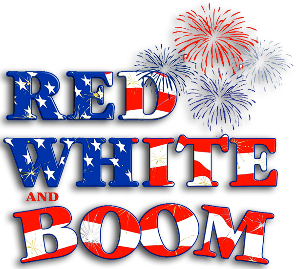 Red White Boom - Red White And Boom 2018 (608x552), Png Download
