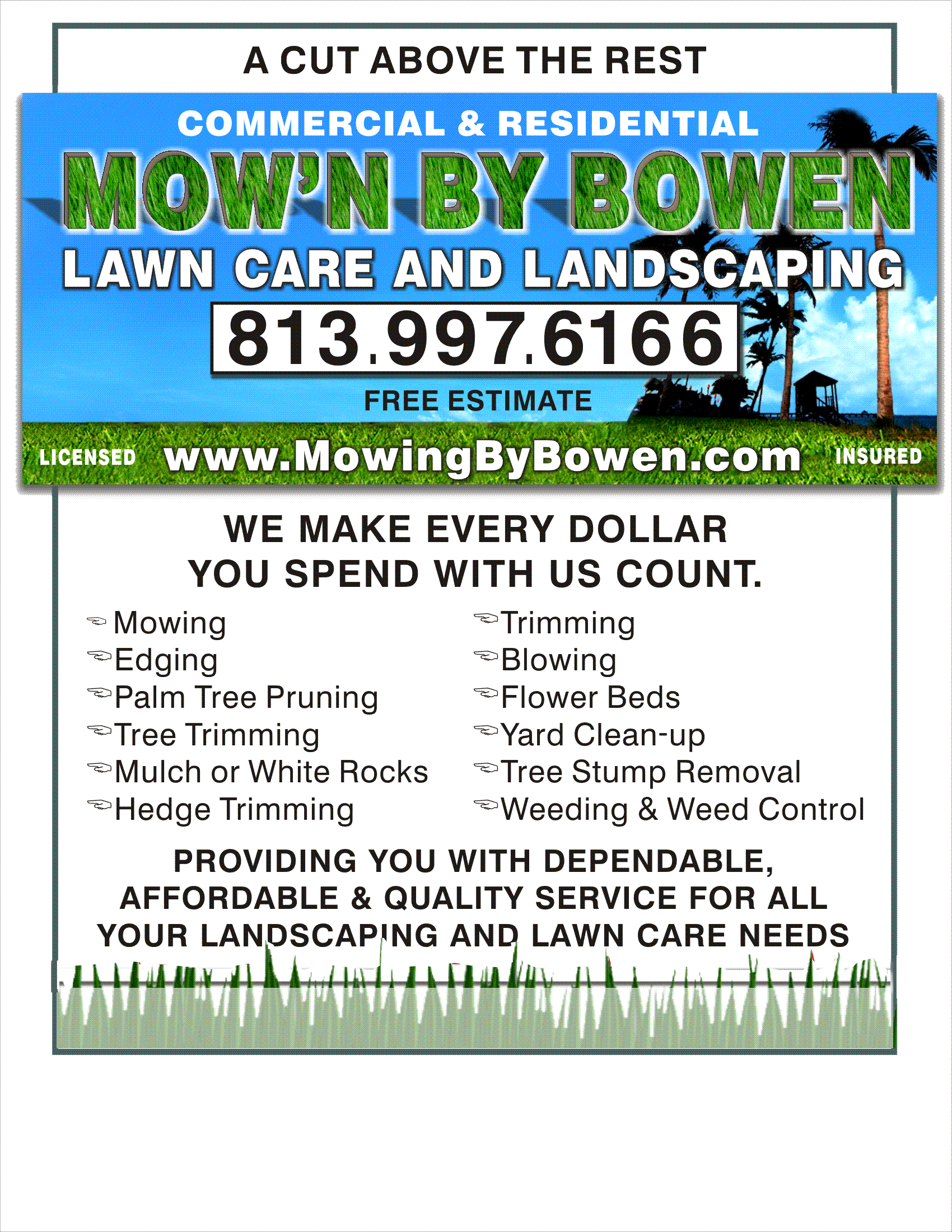 Download Lawn Care Services Flyers Png Image With No Background Pngkey Com