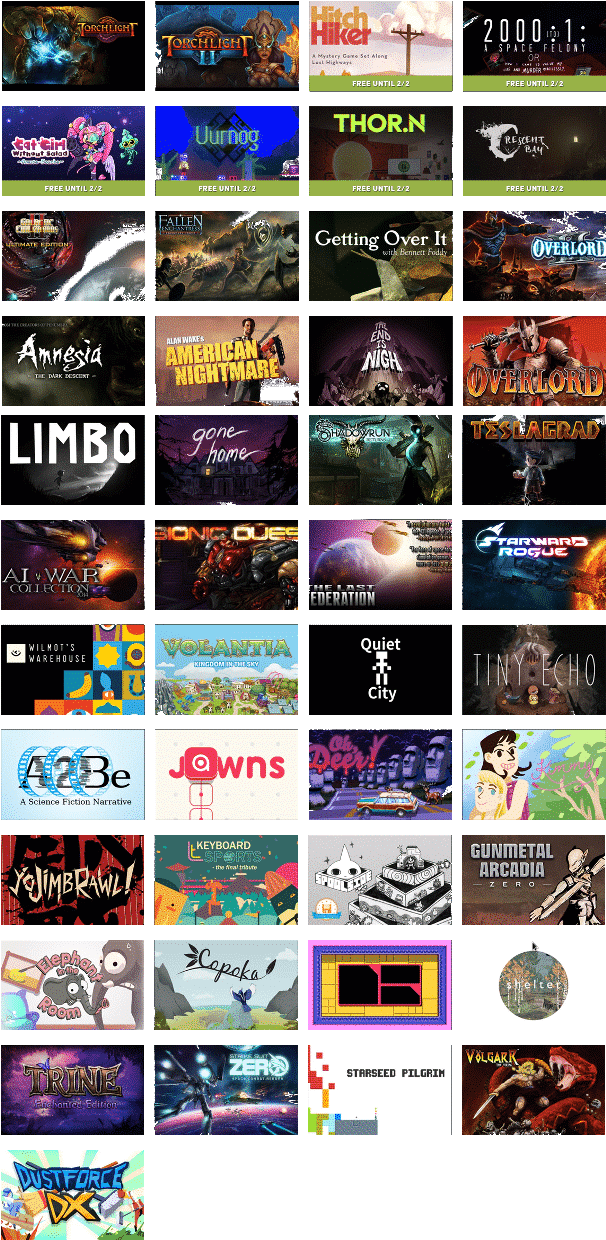 Download Humble Trove Free Games For Monthly Subscribers Via