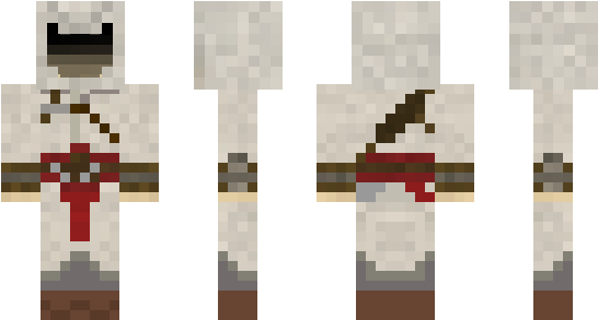 Download Minecraft Skin Ncr Minecraft Assassin S Creed Skin Png