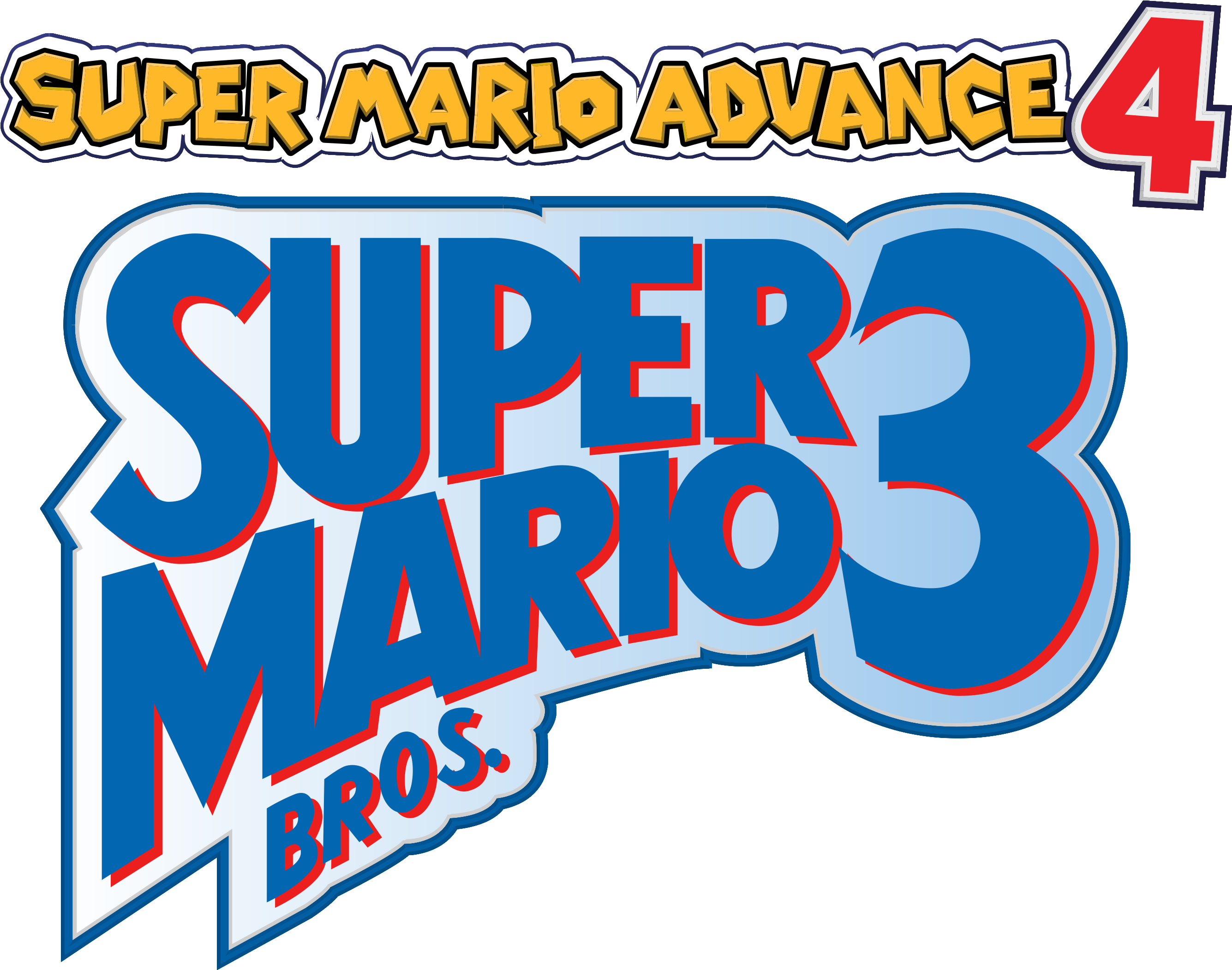 Download Clear Logo Super Mario Advance Super Mario Bros 3 Png