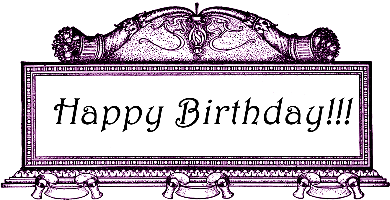 The Above Image Has A Transparent Background - Transparent Background Happy Birthday Frames (1350x693), Png Download