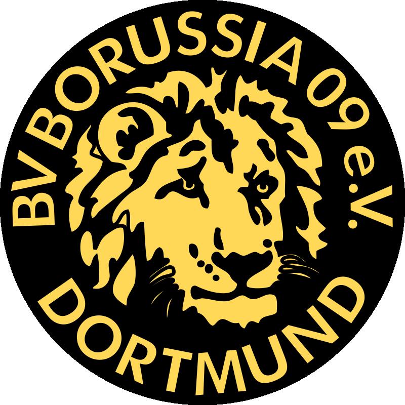 Download Borussia Dortmund Ger Borussia Dortmund Old Logo Png Image With No Background Pngkey Com