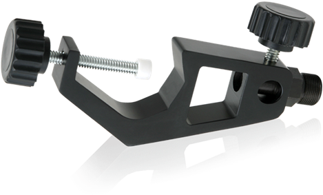 """Microphone Adapter Clamp - Atlas Sound Mac-1 Clamp, 1-1/8"""" Jaw, Black (500x500), Png Download"""