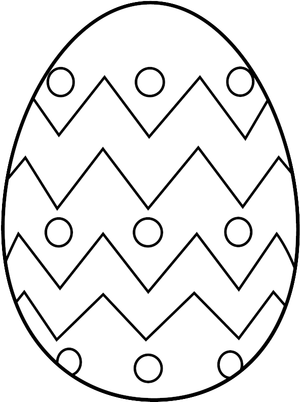 Download Easter Egg Clip Art Free Coloring Pages Easter Eggs To Colour Png Image With No Background Pngkey Com