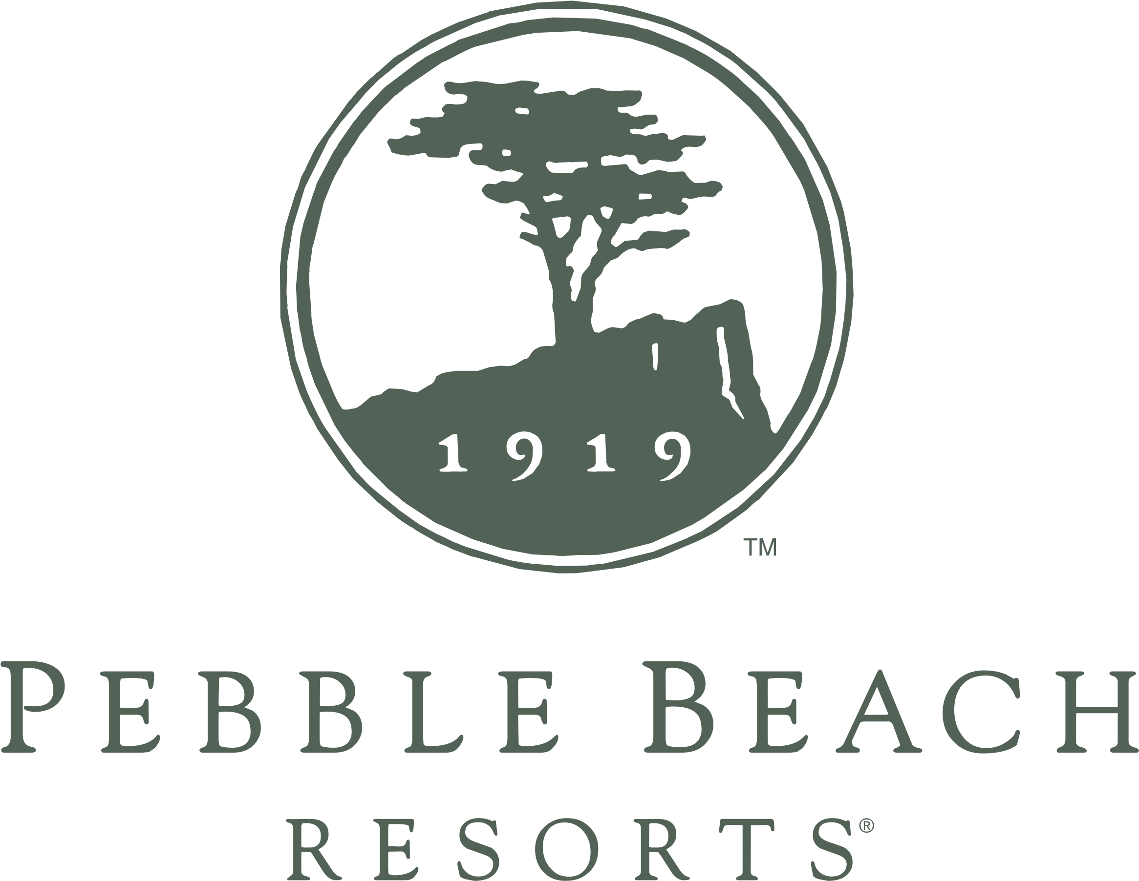 Pebble Beach Resorts logo