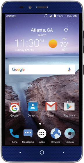 Zte Grand X Max 2 Battery Replacement - Cricket Wireless Zte Grand X Max 2 (600x600), Png Download