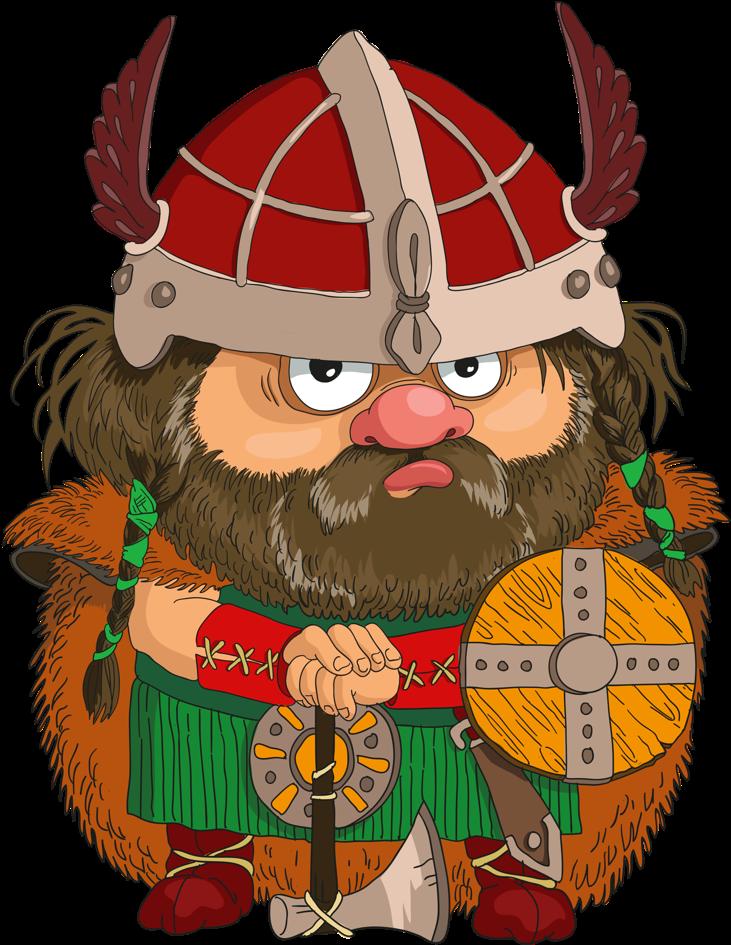 Открытки викинги