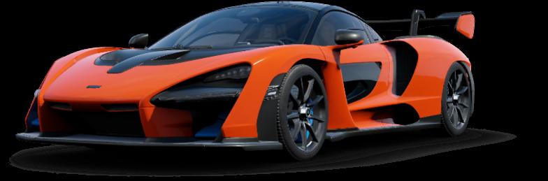 Mclaren Senna - Forza Horizon 4 James Bond Cars (800x450), Png Download